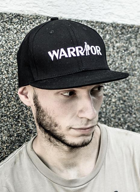 Kšiltovka Warrior černá BLACK černá BLACK