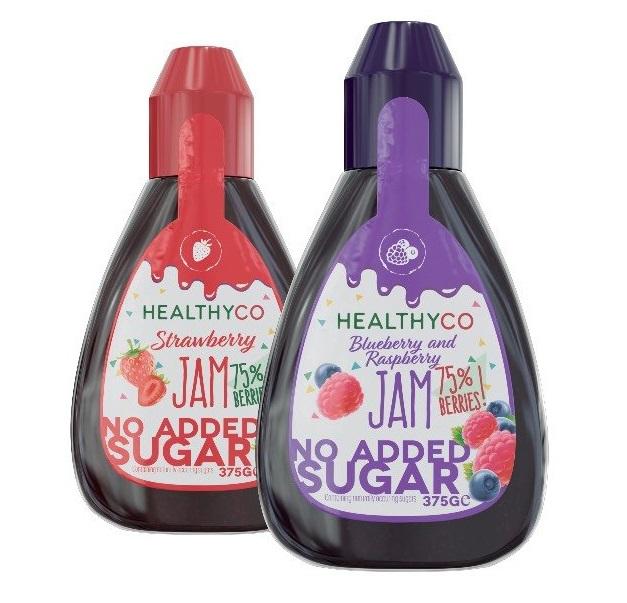 HealthyCo - Džemy bez přidaného cukru 375g Raspberry 375g Raspberry