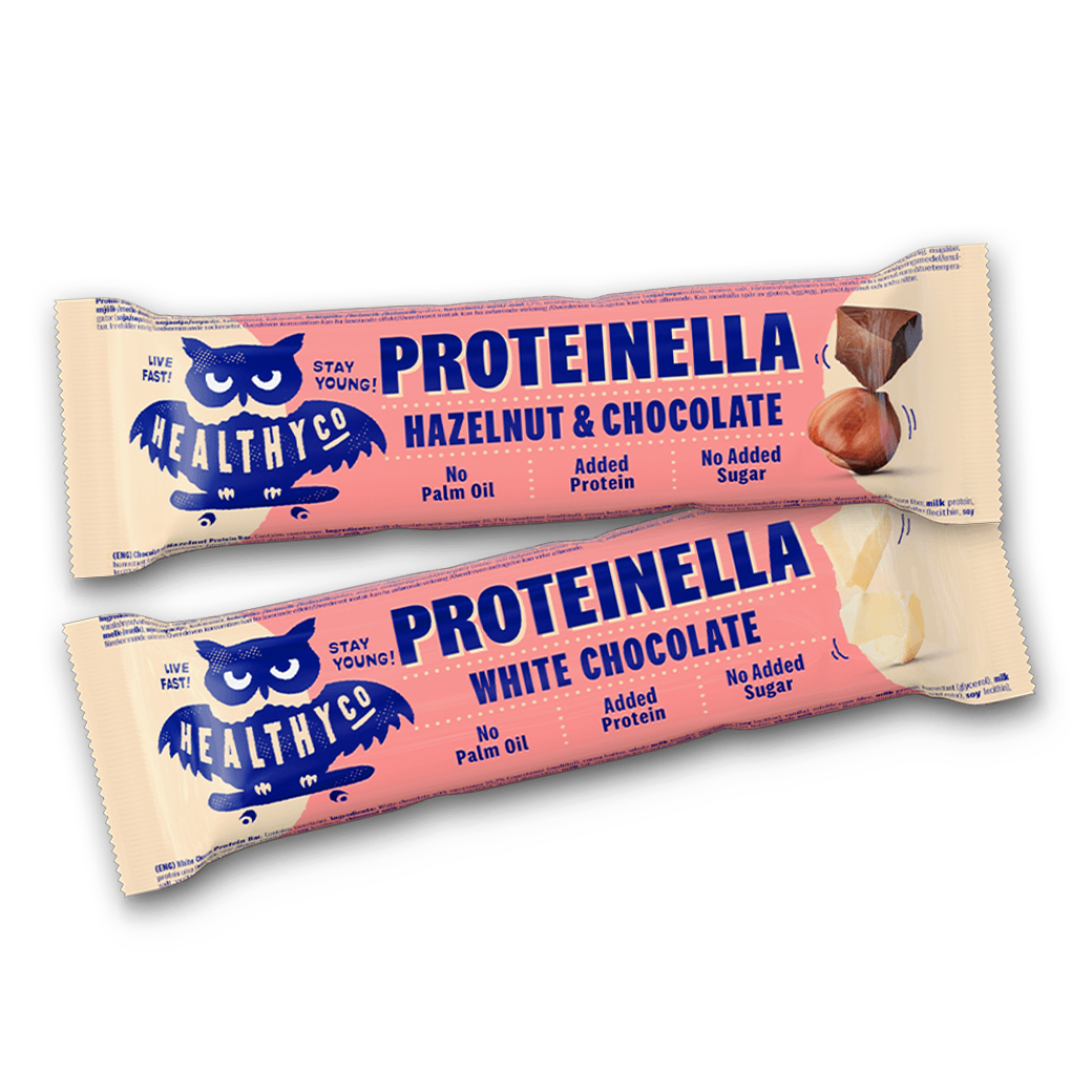 HealthyCo Proteinella Bar - Proteinová tyčinka 35g White Chocolate 35g White Chocolate