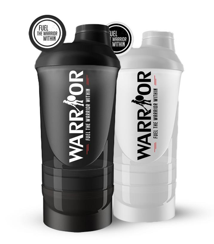 Smart Šejkr Warrior vícedílný 600ml + 350ml 600ml + 350ml Bílá 600ml + 350ml Bílá