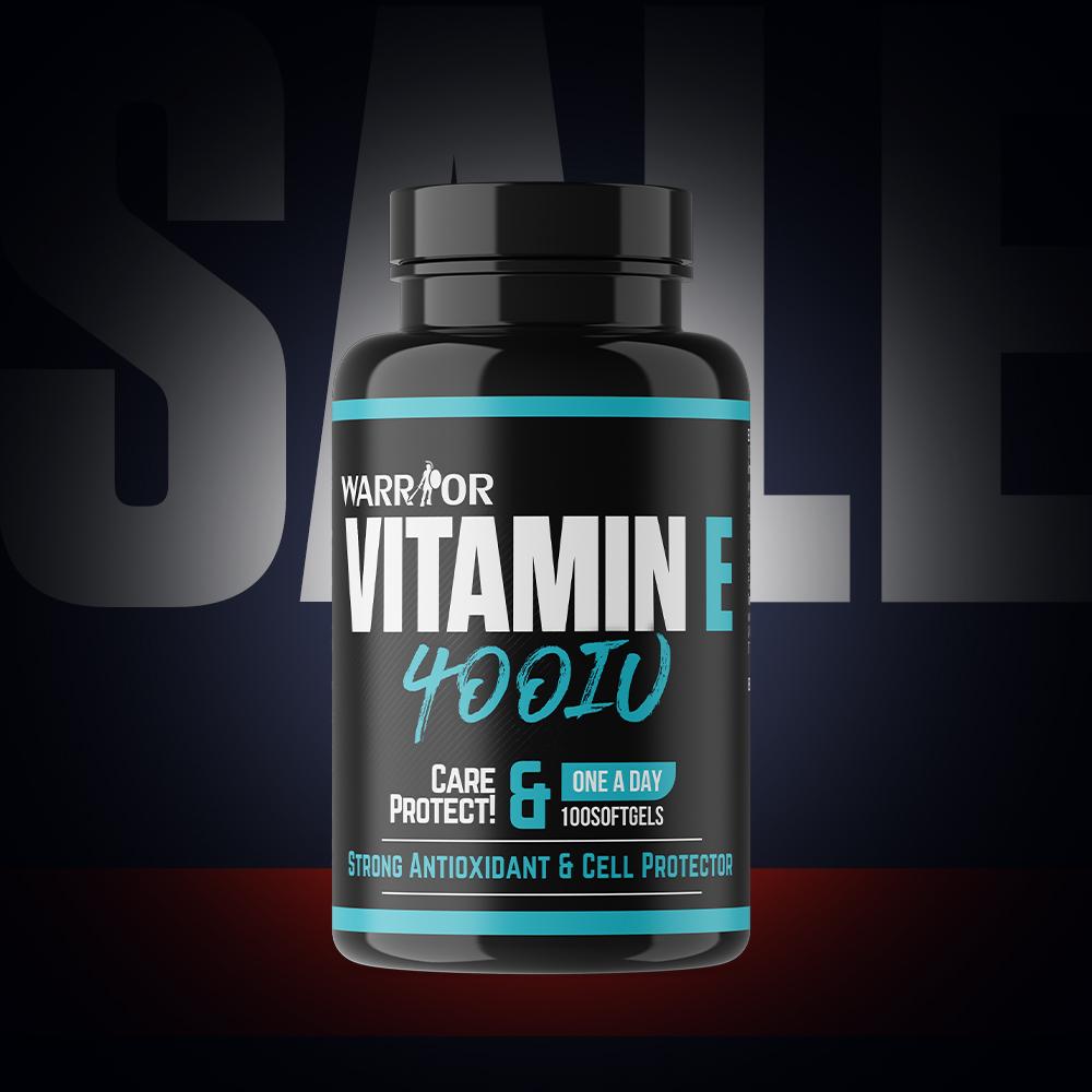 Vitamin E 400IU 100 Softgels 100 Softgels